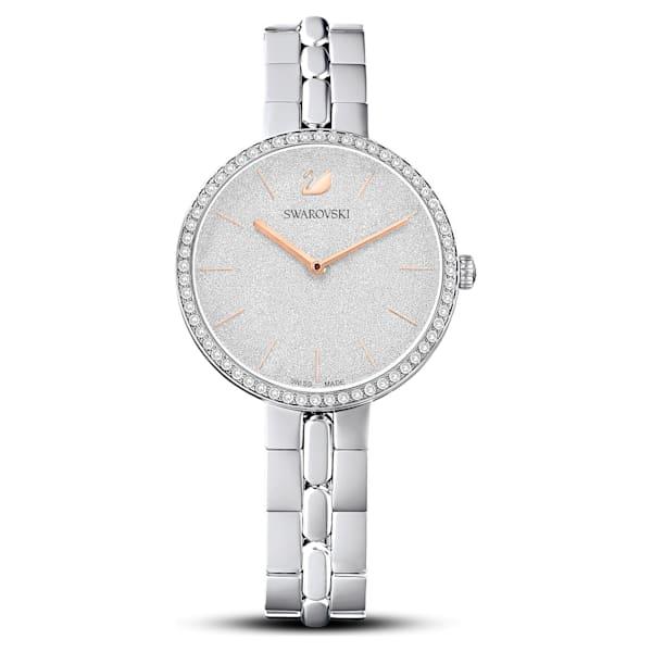 swarovski cosmopolitan watch metal bracelet white stainless steel swarovski 5517807