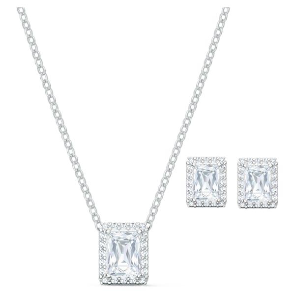 swarovski angelic set white rhodium plated swarovski 5579842