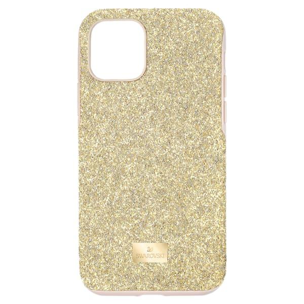swarovski high smartphone case with bumper iphone® 11 pro gold tone swarovski 5533961