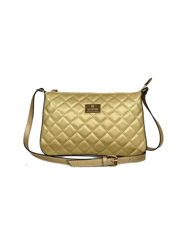 Γυναικεία τσάντα χιαστί Ariadne SS21 Χρυσό