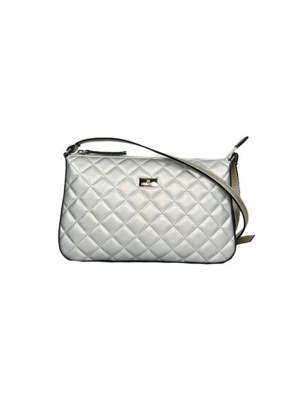 Γυναικεία τσάντα χιαστί Ariadne SS21 Ασημί
