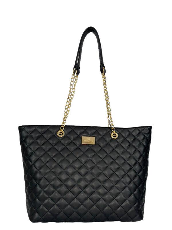 Γυναικεία τσάντα ώμου Ariadne SS21 Μαύρο