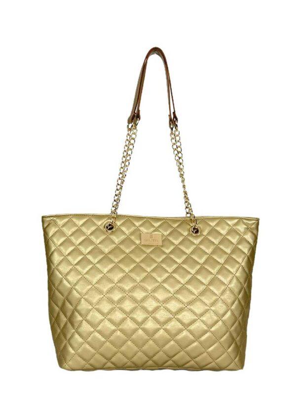 Γυναικεία τσάντα ώμου Ariadne SS21 Χρυσό