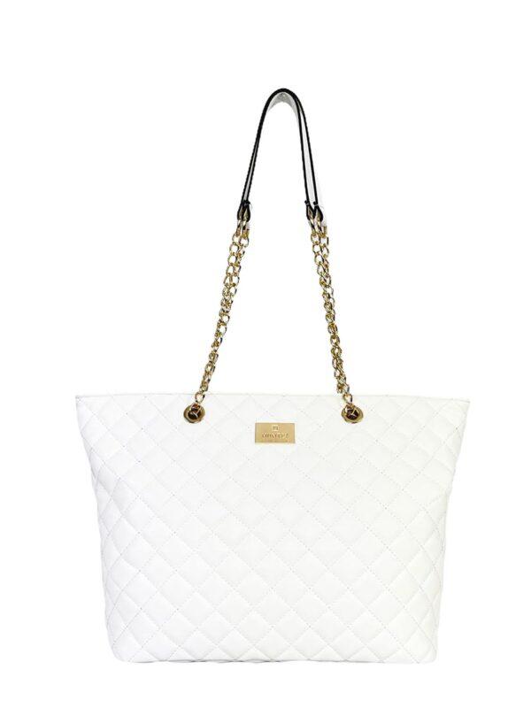 Γυναικεία τσάντα ώμου Ariadne SS21 Λευκό