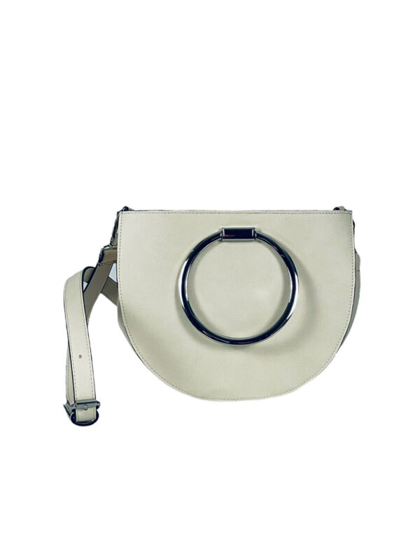 Γυναικεία τσάντα χιαστί circle Azalea Μπεζ