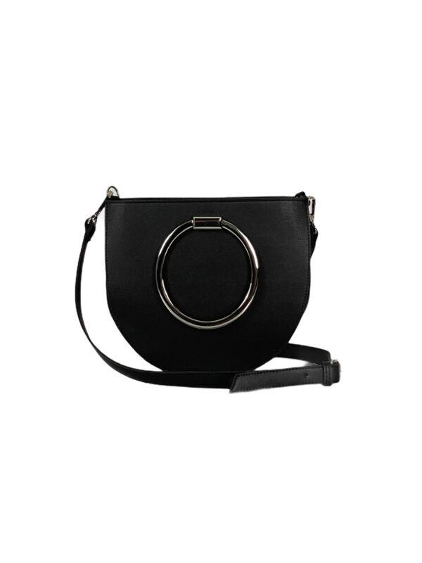 Γυναικεία τσάντα χιαστί circle Azalea Μαύρο