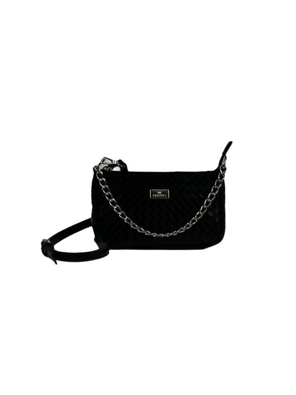 Γυναικεία τσάντα χιαστί Dahlia Μαύρο