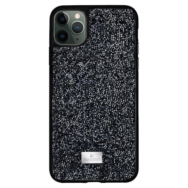 swarovski glam rock smartphone case iphone® 12 mini 2 black swarovski 5592043