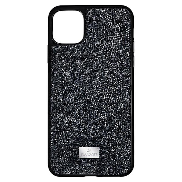swarovski glam rock smartphone case iphone® 12 mini black swarovski 5592043