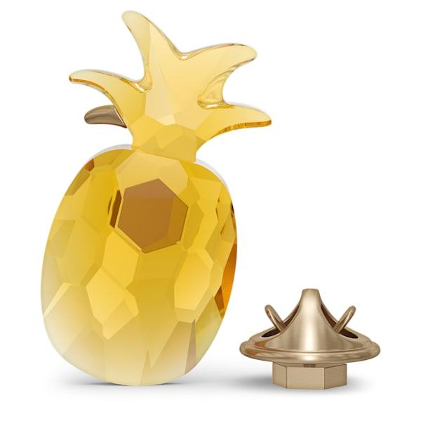 swarovski jungle beats pineapple magnet yellow large swarovski 5572158