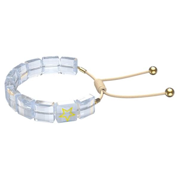 swarovski letra bracelet star white gold tone plated swarovski 5615862